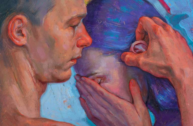 Painting by Tania Rivilis